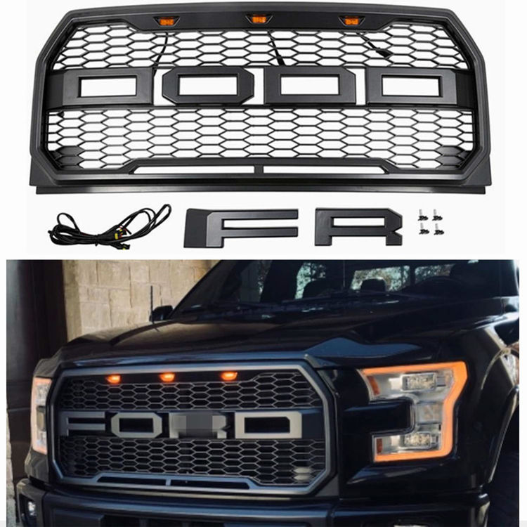Picture of SHOW FRONT GRILLE-Ford F150