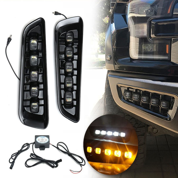 Picture of Front bumper LED fog lamp-Ford Raptor