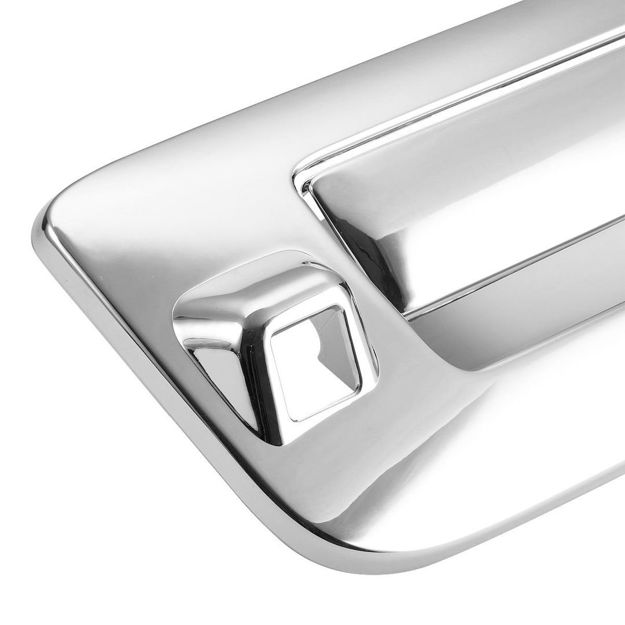 Picture of REAR DOOR CHROME WITH CAMERA HOLE - GMC Sierra