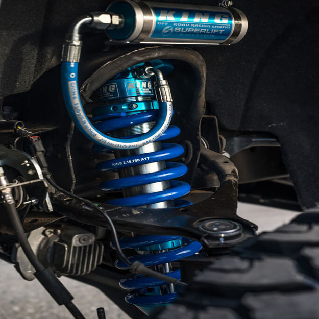 "Picture of 2"" FRONT & REAR COIL OVER SHOCK 2.5 BORE BLUE-GMC Sierra"
