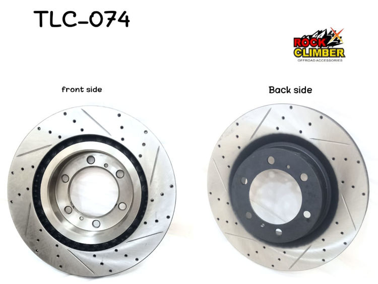 Picture of 43512-60190-FJ CRUISER 07-20 FRONT BRAKE DISC