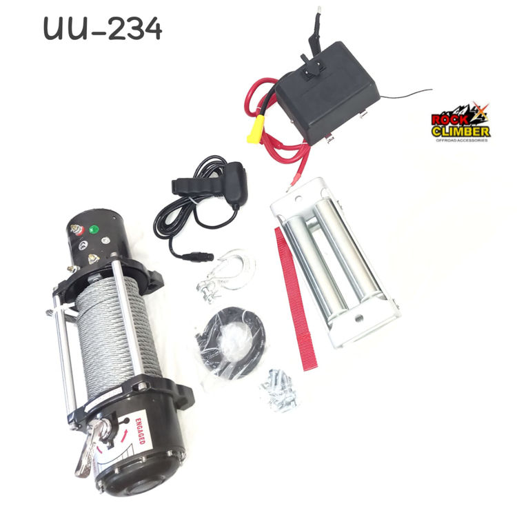 Picture of EWX6000LBS 12V ELECTRIC WINCH STEEL CABLE